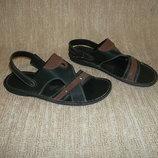 2в1 мужские сандалии шлепанцы рр. 44
