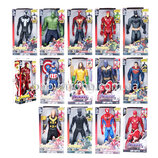 Супер-Герои Марвел - Мстители 30 См Свет Музика Халк, Танос, Флэш
