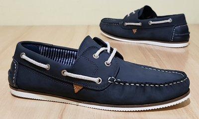 Оригинальные кожаные туфли River Island 43р - 28,5см