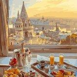 Картина по номерам. Brushme Завтрак с видом на старый город GX29263