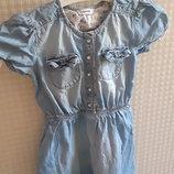 George платье джинсовое 4-5 лет 104 - 110 см