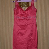 S/M Нарядный летний сарафан - футляр, платье футляр. Ceber Турция