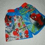 Шорты детские человек-паук spider-man на мальчика 2-3 года.