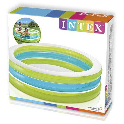 Семейный надувной бассейн Intex 57489 203 51 см