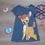 Сказочная футболка H&M с Bambi