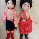 куклы в национальных костюмах пара
