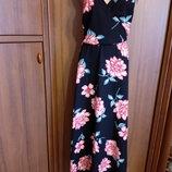 Jane Norman платье 50 размер с цветочным принтом сукня 50 р плаття 50 р сарафан 50 р