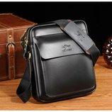 Небольшая мужская сумка-барсетка KANGAROO через плечо.Размер 20 17 6см Кс5