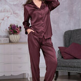 летние свободные брючки с карманами в пижамном стиле