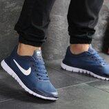 Кроссовки мужские летние Nike Free Run 3.0 blue