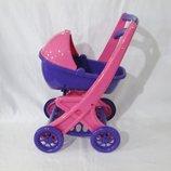 Коляска Для Кукол С Люлькой, Артикул 0121/02. Детская коляска. Коляска для куклы.