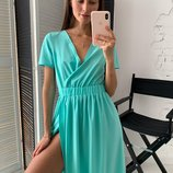 Милое платье летнее 42 - 46 три расцветки