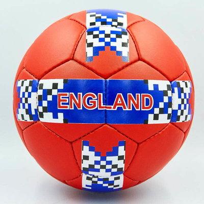 Мяч футбольный 5 гриппи England 0138 PVC, сшит вручную