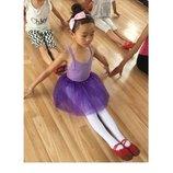 Фатиновая юбка девочке для танцев, 3 слоя фатина. Цвета