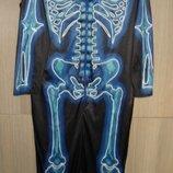 Костюм карнавальный Скелет размер L-48-50 высокий рост