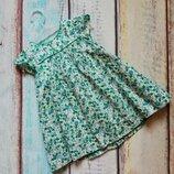 Милое платье Zara baby 9-12 мес цветочный принт
