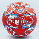 Мяч футбольный 5 гриппи Bayern München 0133 PVC, сшит вручную
