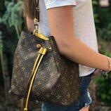 Женская сумка Louis Vuitton LV жіноча сумка белая коричневая біла коричнева кожаная сумочка