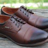 Туфли классика Vivaro р-р 40-45 Итальянская кожа