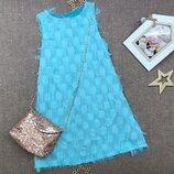 Модное платье с сумочкой для девочек