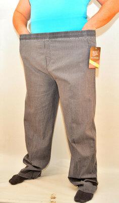 Полубаталы, брюки штаны льняные мужские р 70