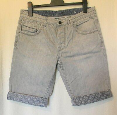 Муж.джинсовые шорты Maddison р.L хлопок