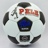 Мяч футбольный 5 Pele 0174 PU, сшит вручную