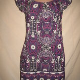 Вискозное платье New Look р-р14