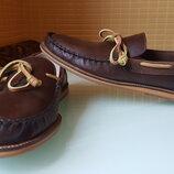Кожаные мужские фирменые мокасины J -Shoes original