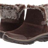 Зимние замшевые ботинки Скечерс SKECHERS Easy Going-Quantu 39 - 41 сапоги