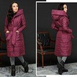 Пальто свободное большого размера
