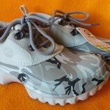 Полуботинки Crocs р.2-4 стелька 21см