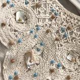 Мягчайшая трикотажная блуза с декором