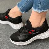 Стильные женские кроссовки отличного качества С-2чр