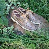 Туфли лоферы мокасины Экко Ecco 44 р 29 см кожа