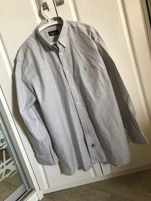 L, Ralph Lauren, новая плотная рубашка, хлопок-полиестер