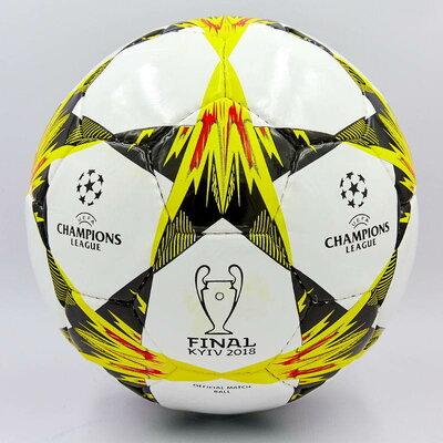 Мяч футбольный 5 Champions League Final Kiev 0094 PU, сшит вручную