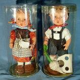 Коллекционная кукла - винтажная пара от M.I. Hummel Goebel - 30 см.
