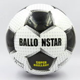 Мяч футбольный 5 Ballonstar Super Brilliant 0167 PU, сшит вручную