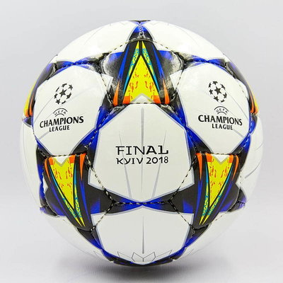 Мяч футзальный 4 Champions League Final Kiev 0097 PU, сшит вручную