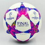 Мяч футзальный 4 Champions League Final Madrid 0148 PU, сшит вручную