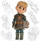 очаровательная кукла Кристофф Kristoff Disney Animators оригинал клеймо 42 см