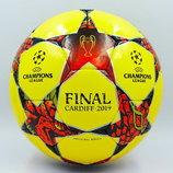 Мяч футзальный 4 Champions League Final Madrid 0100 PU, сшит вручную