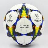 Мяч футзальный 4 Champions League Final Kiev 0097 PU, сшит вручную