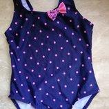 Шикарный купальник для маленькой модницы tu 2-3 года