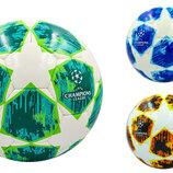 Мяч футзальный 4 Champions League 0152 PU, сшит вручную 3 цвета