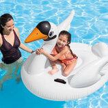 Пляжный надувной плот Intex 57557 Лебедь