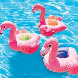 Надувной подстаканник Фламинго для бассейна / Підстаканник Фламінго Intex 57500