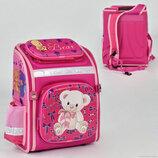 Рюкзак школьный N 00178, 1 отделение, 3 кармана, спинка ортопедическая