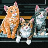 Картина По Номерам. BRUSHME МУЗЫКАЛЬНЫЕ Коты G361